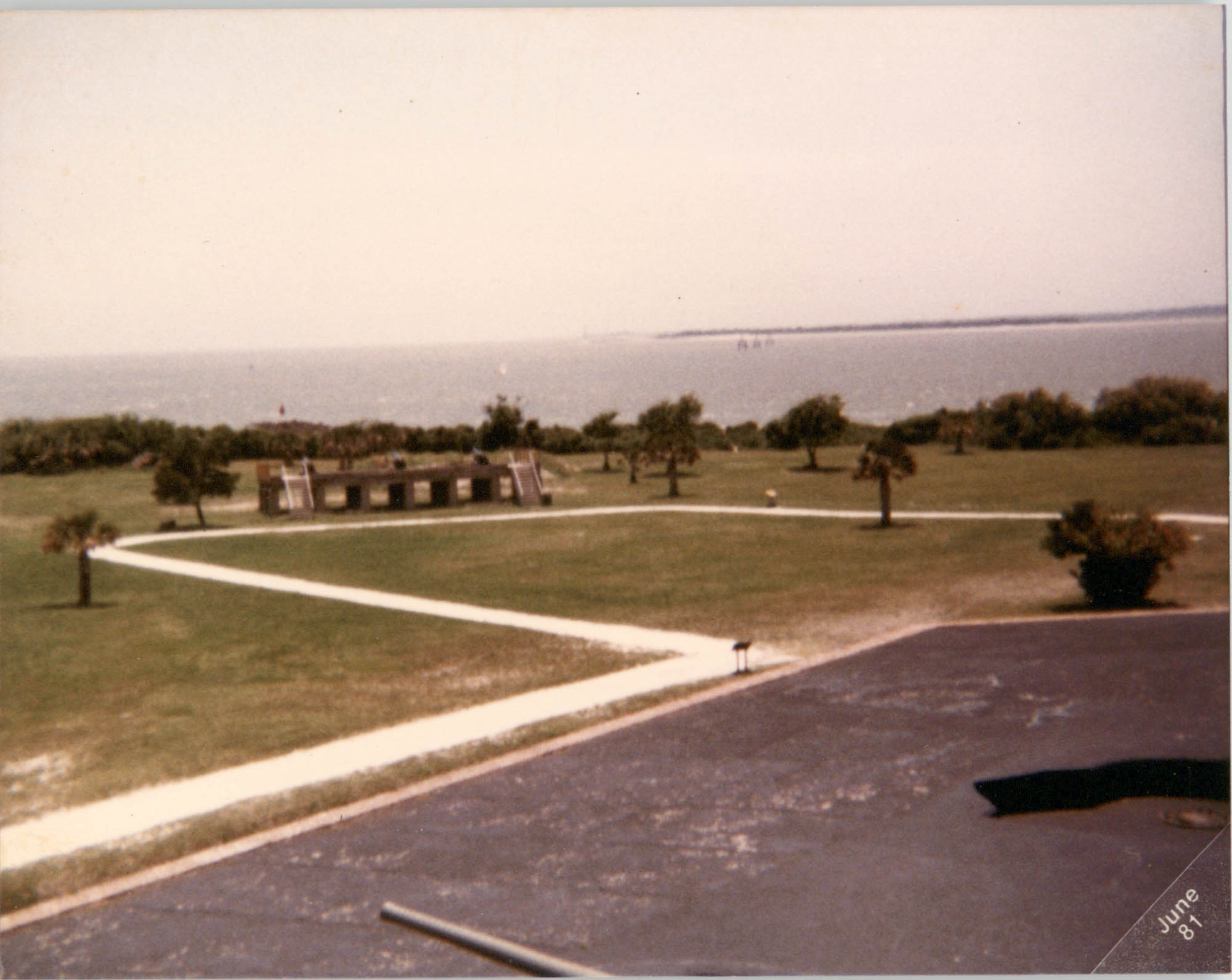 Photograph of the Charleston Harbor