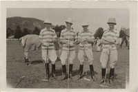 Mario Pansa with his polo team, Photograph 5