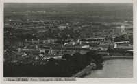 Aerial photograph of Mysore, India