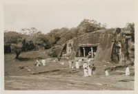 Temple in Ratnapura, Sri Lanka