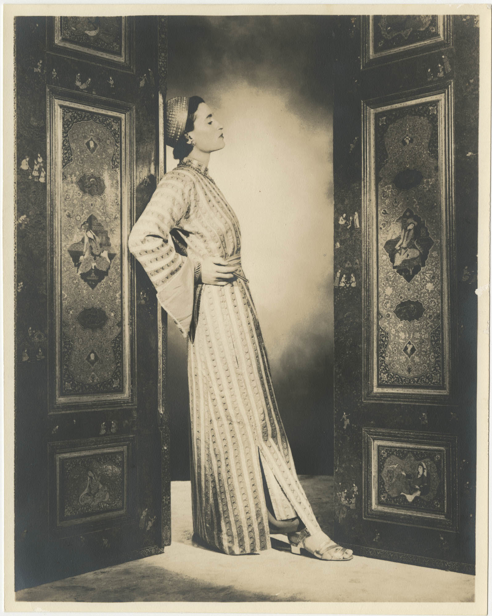 Portrait photograph of Gertrude Legendre