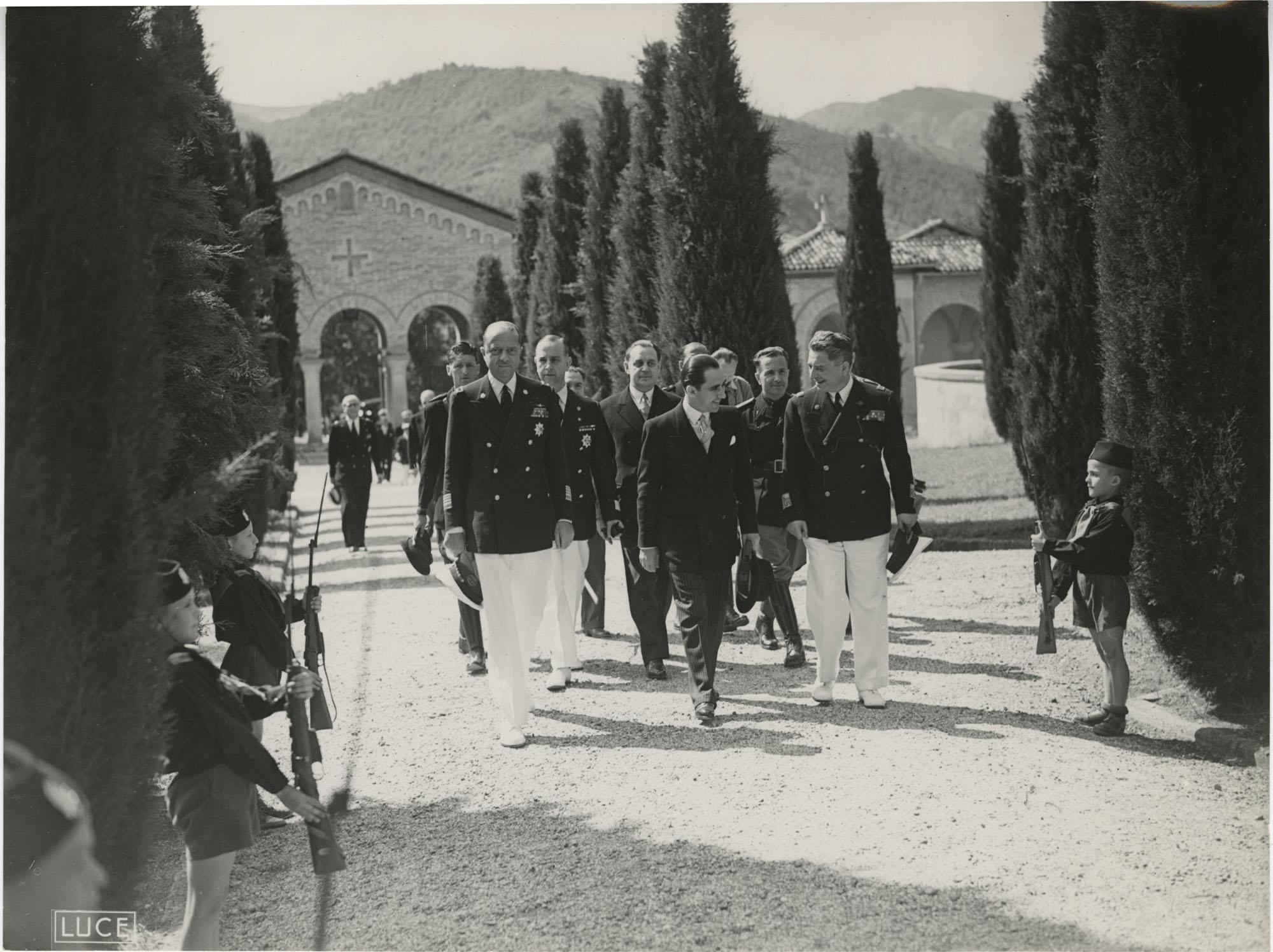 Mihai Antonescu's visit to Benito Mussolini, Photograph 62