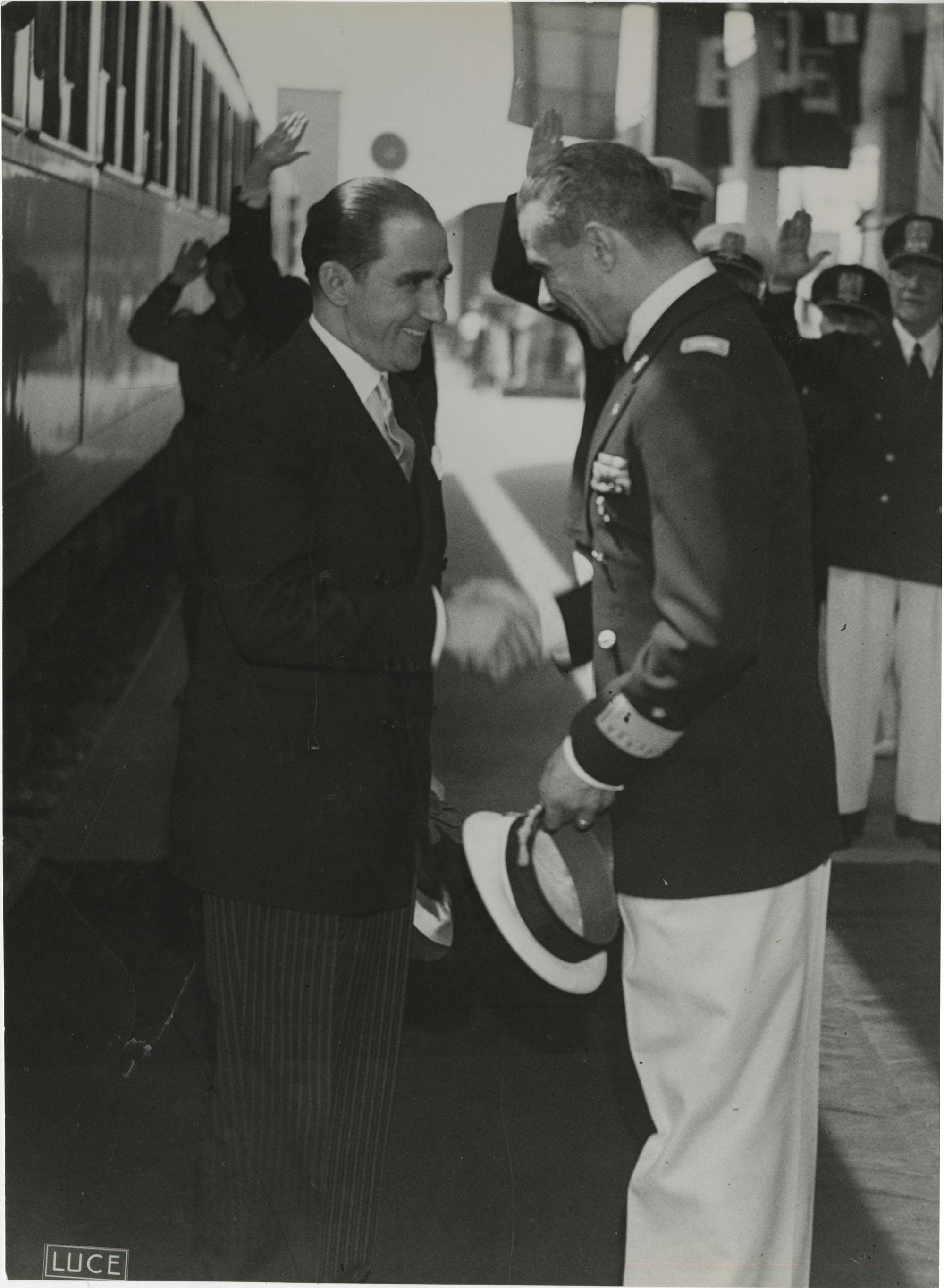 Mihai Antonescu's visit to Benito Mussolini, Photograph 61
