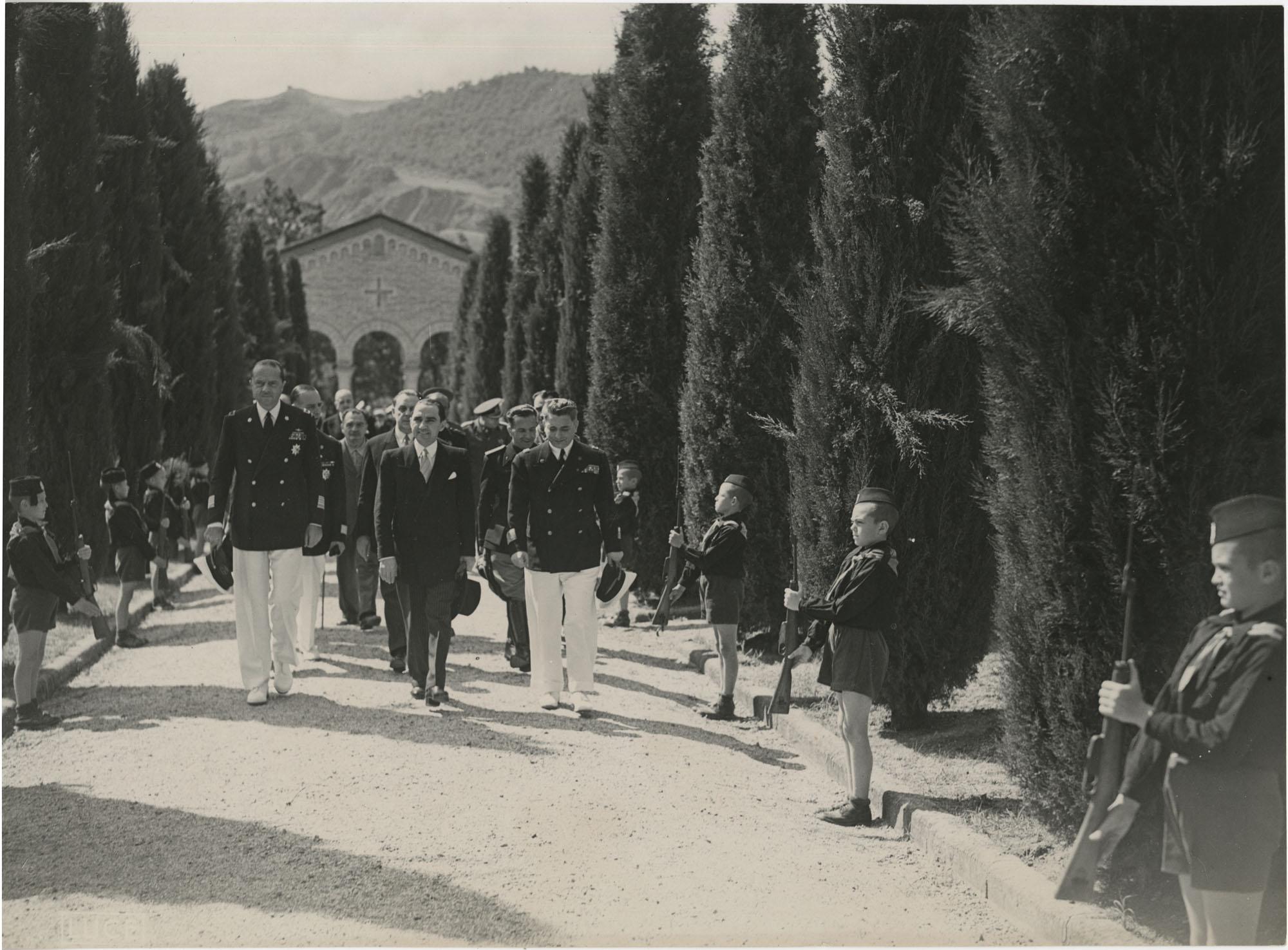Mihai Antonescu's visit to Benito Mussolini, Photograph 27
