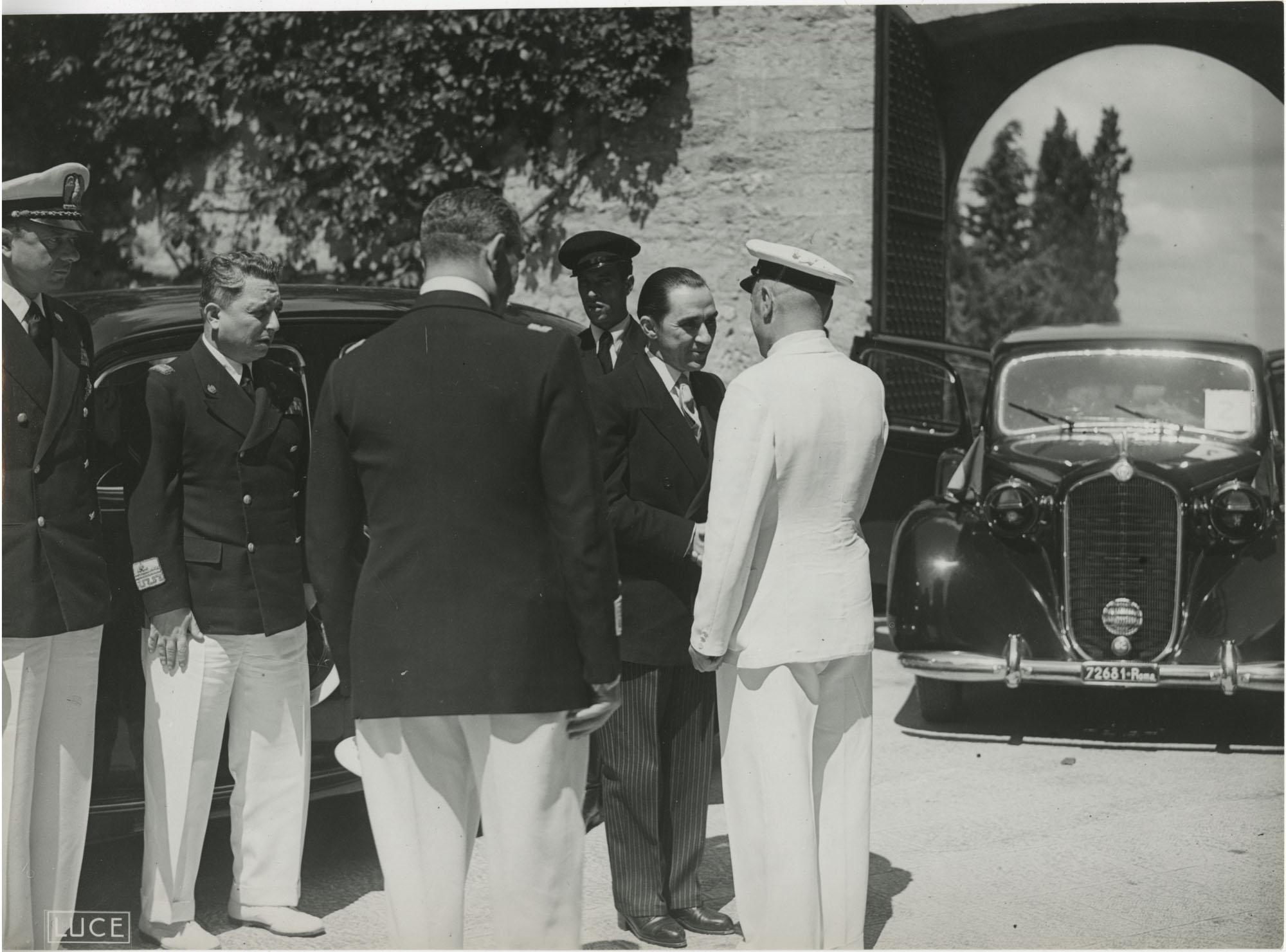 Mihai Antonescu's visit to Benito Mussolini, Photograph 30