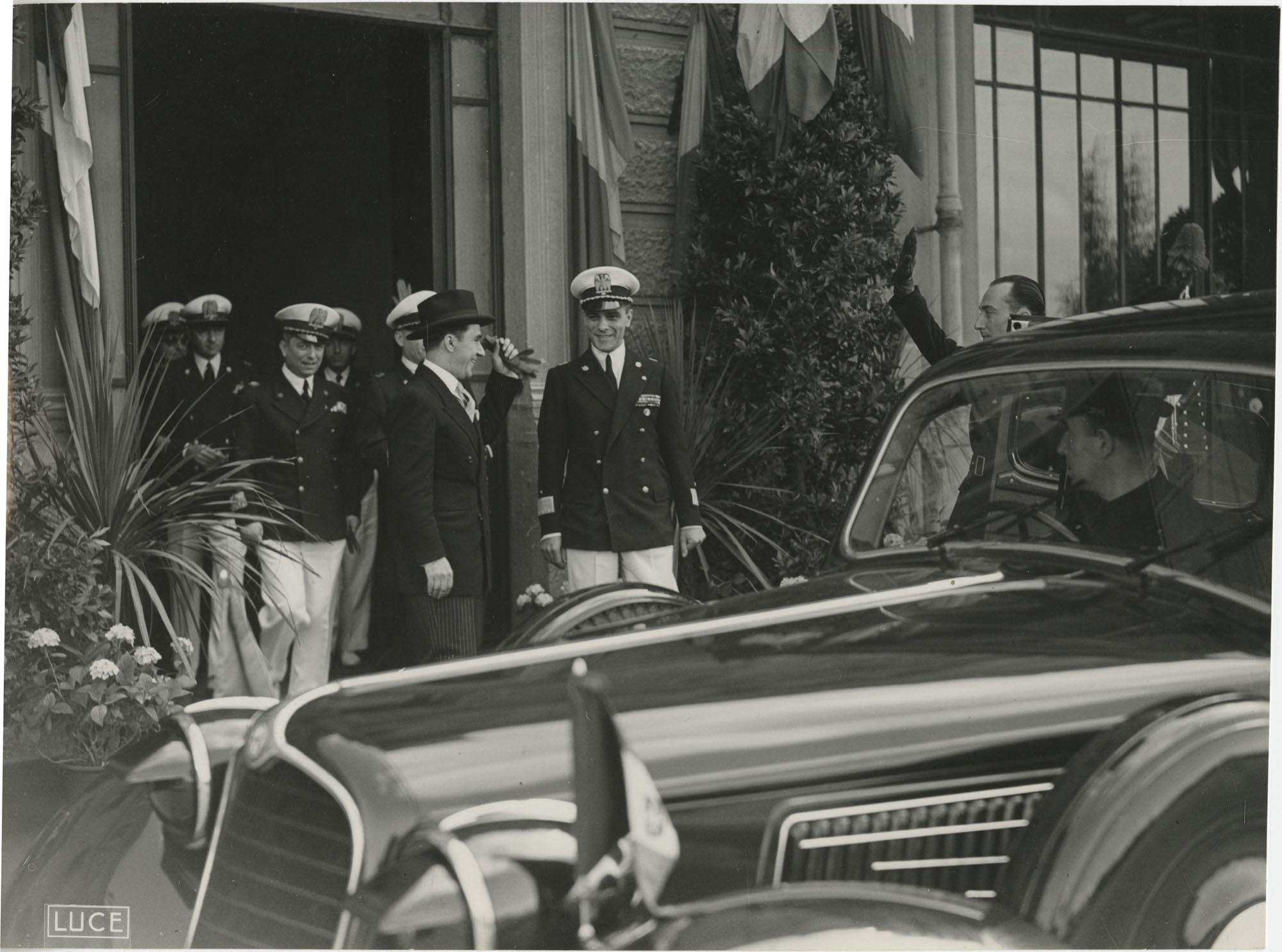 Mihai Antonescu's visit to Benito Mussolini, Photograph 31