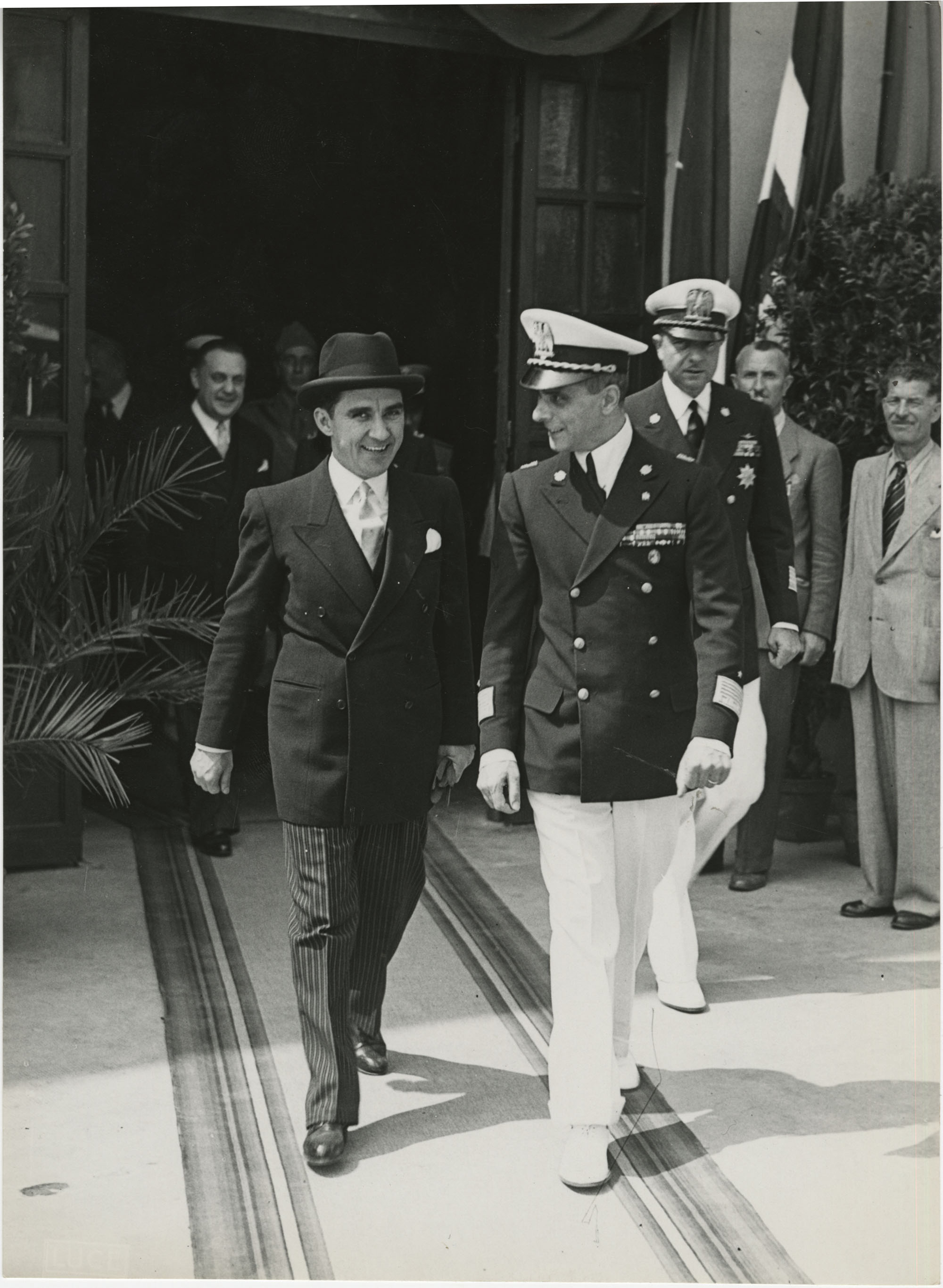 Mihai Antonescu's visit to Benito Mussolini, Photograph 33