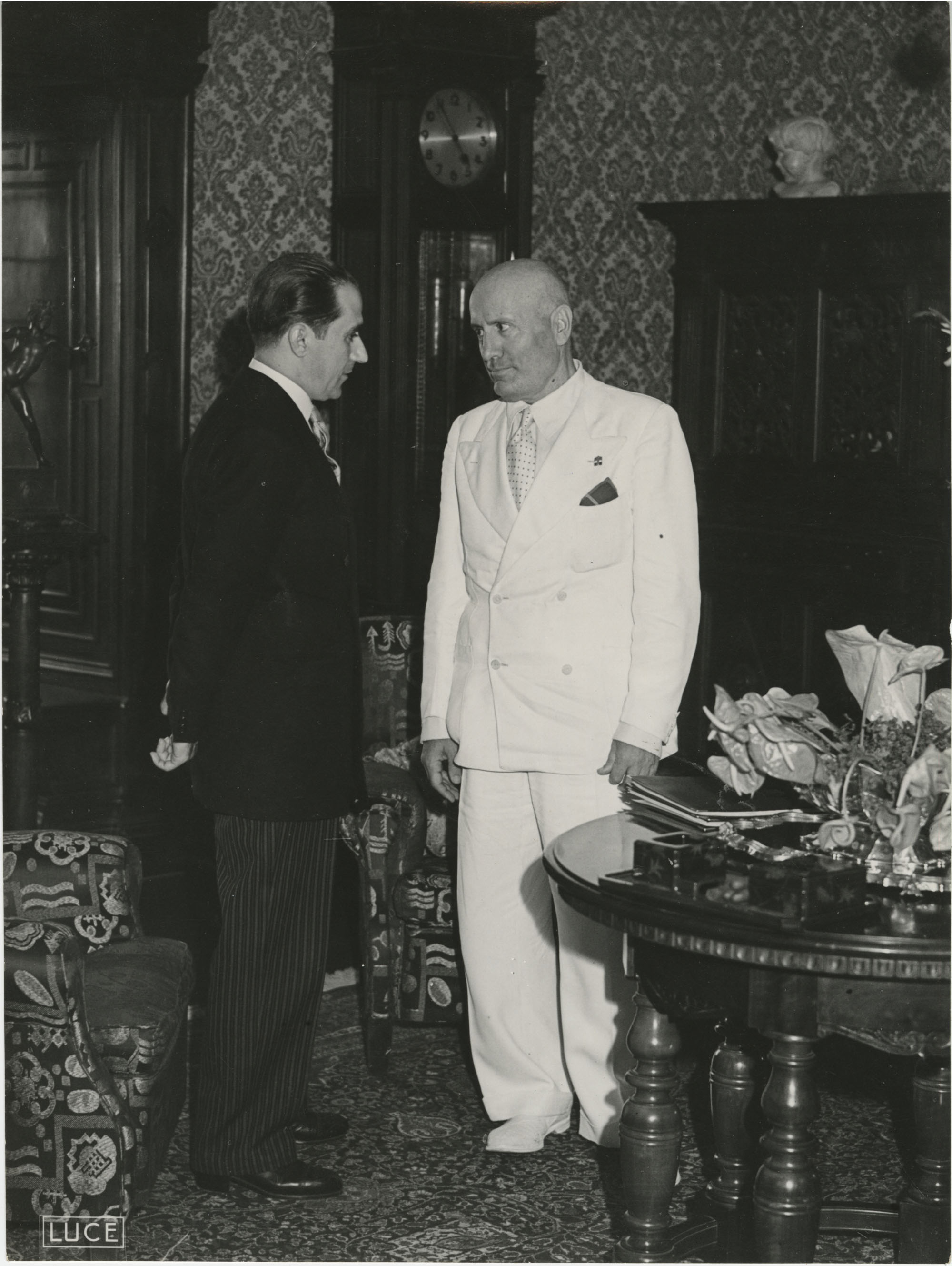 Mihai Antonescu's visit to Benito Mussolini, Photograph 34