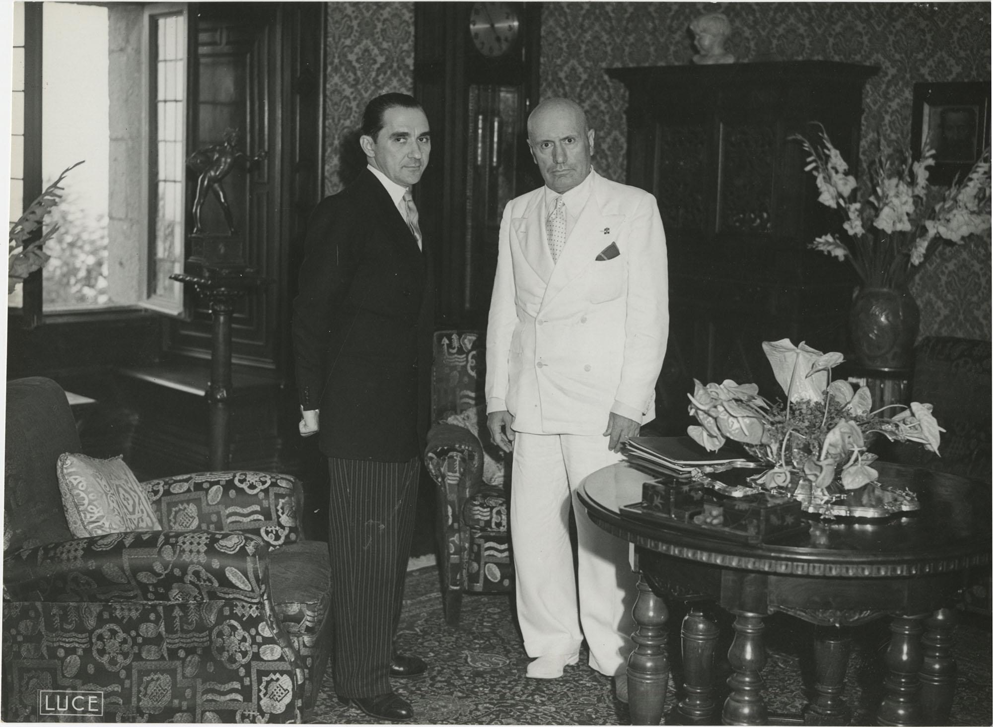 Mihai Antonescu's visit to Benito Mussolini, Photograph 35