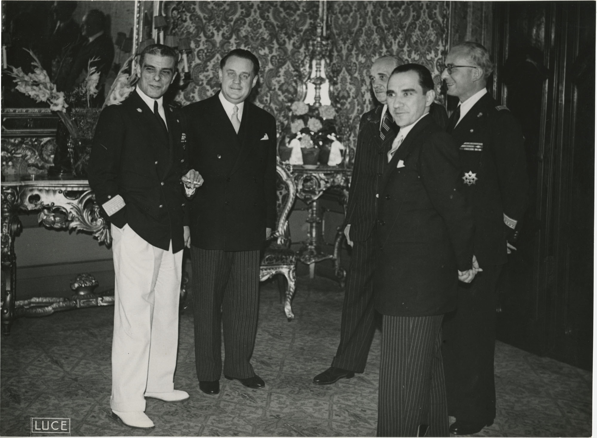 Mihai Antonescu's visit to Benito Mussolini, Photograph 32