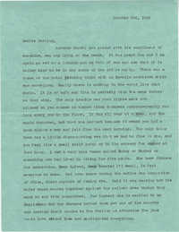 Letter from Sidney Jennings Legendre, October 26, 1942