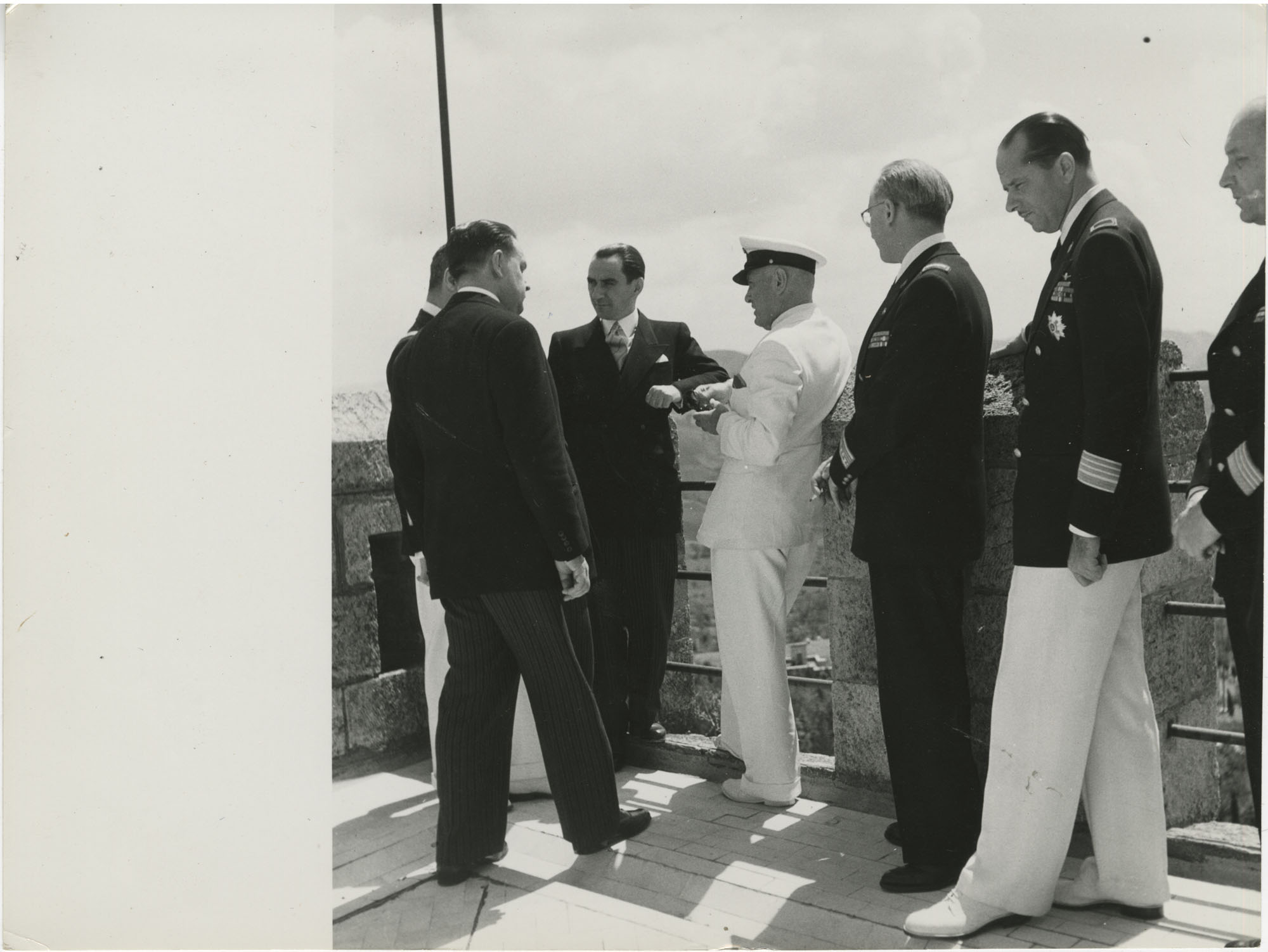 Mihai Antonescu's visit to Benito Mussolini, Photograph 52