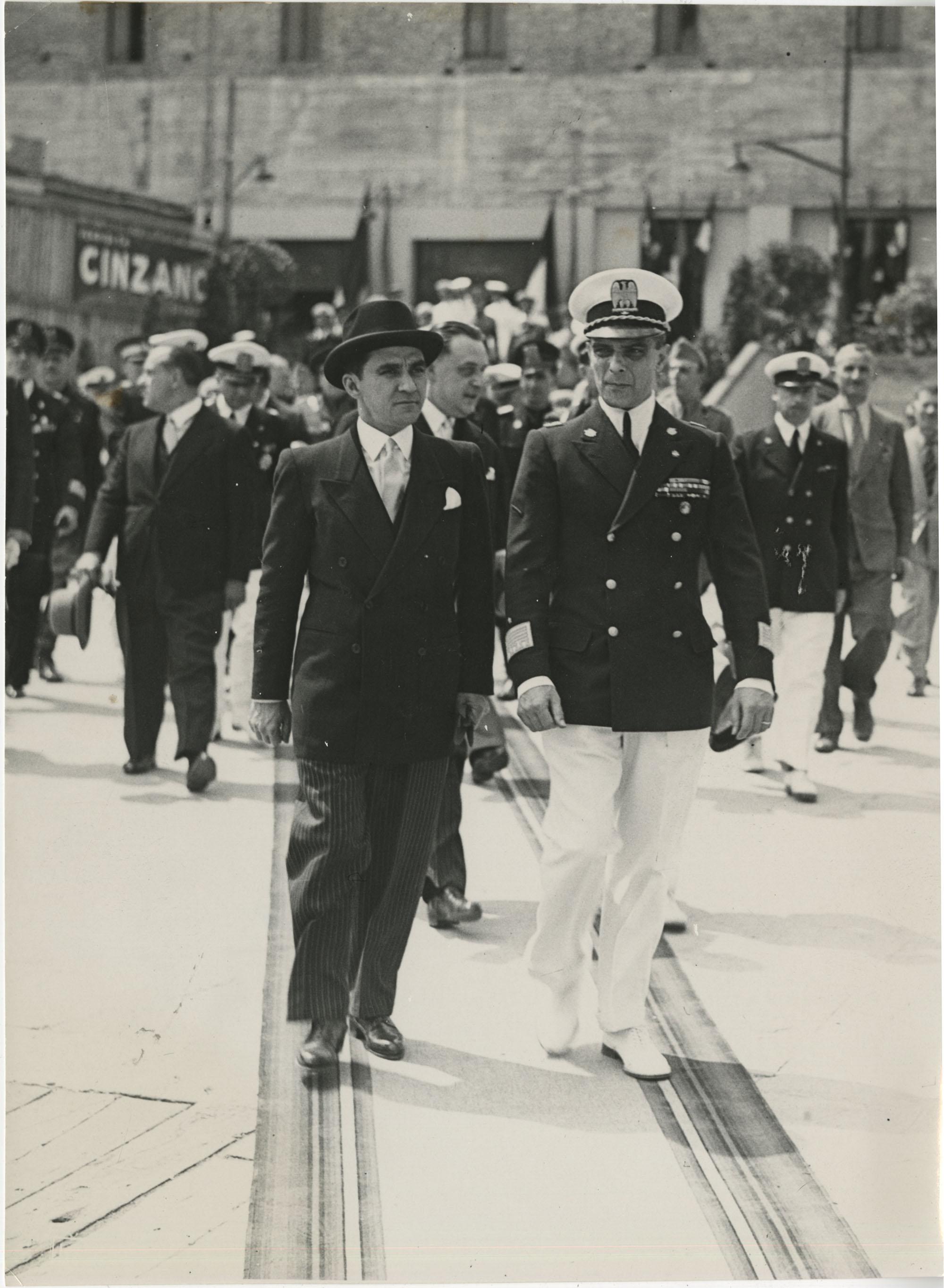 Mihai Antonescu's visit to Benito Mussolini, Photograph 56