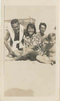 Photograph of Armant Legendre and family