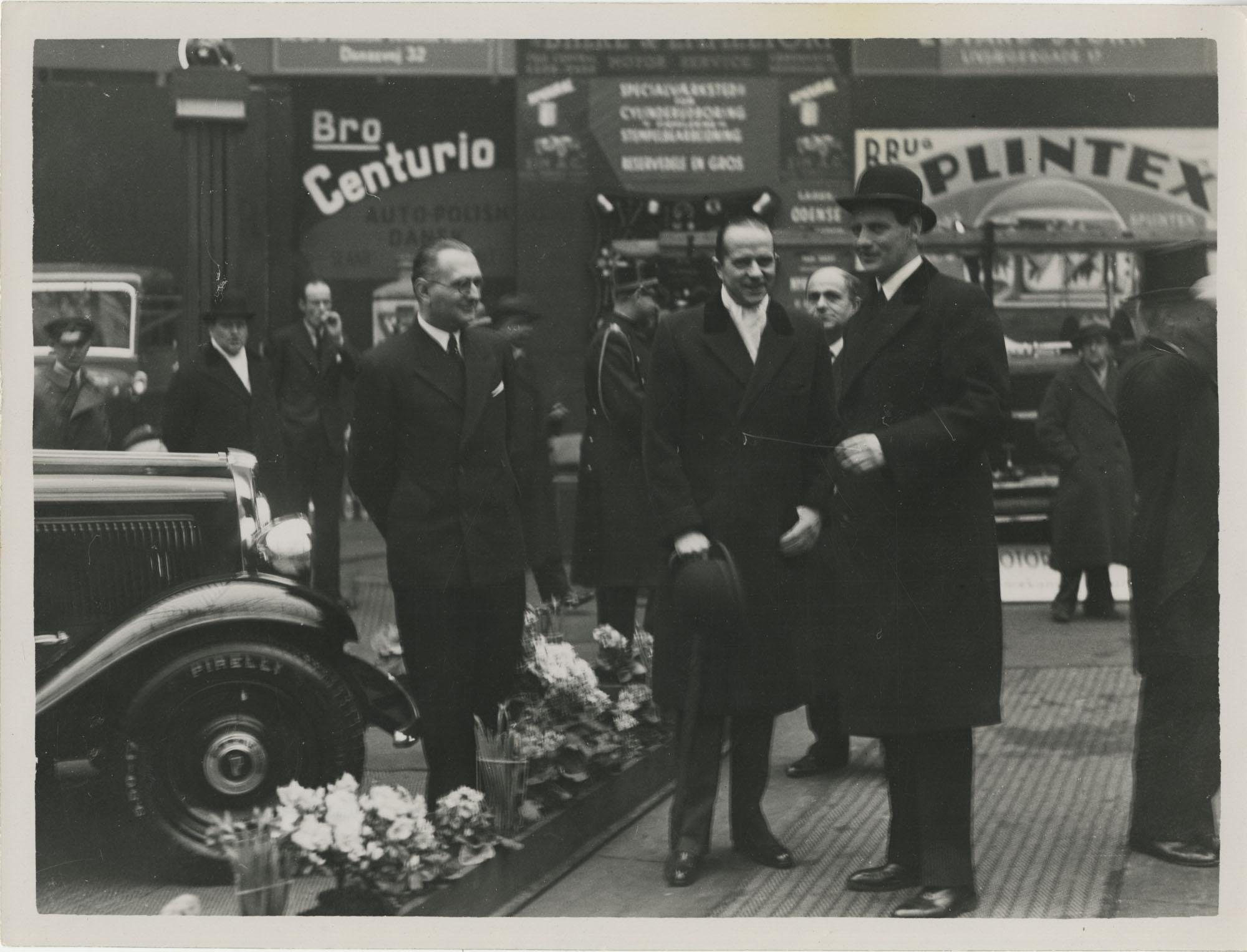 Mario Pansa and friends in Copenhagen, Photograph 2