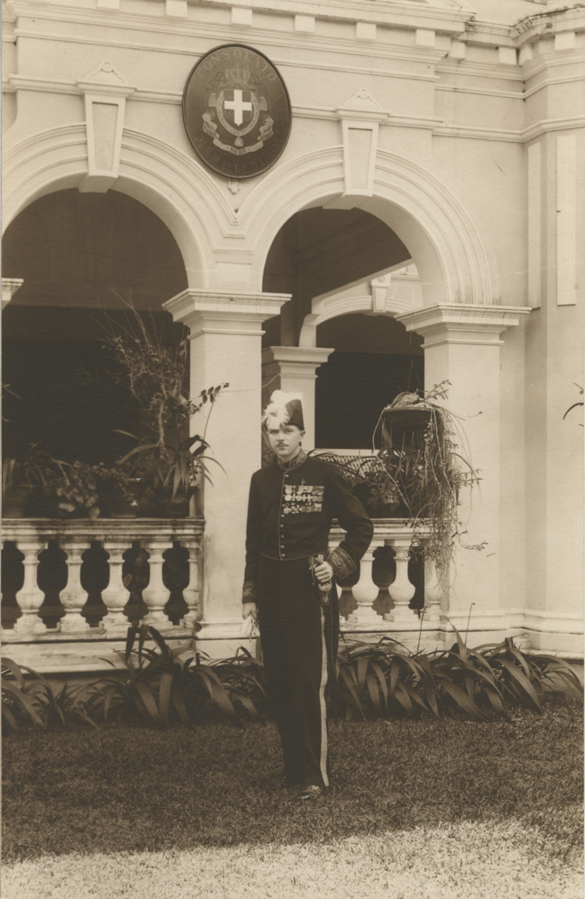 Mario Pansa in full dress uniform, Photograph 3