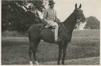 Mario Pansa astride a horse, Photograph 3