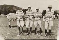 Mario Pansa with his polo team, Photograph 2