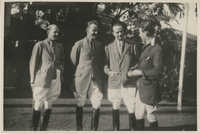 Mario Pansa with his polo team, Photograph 3