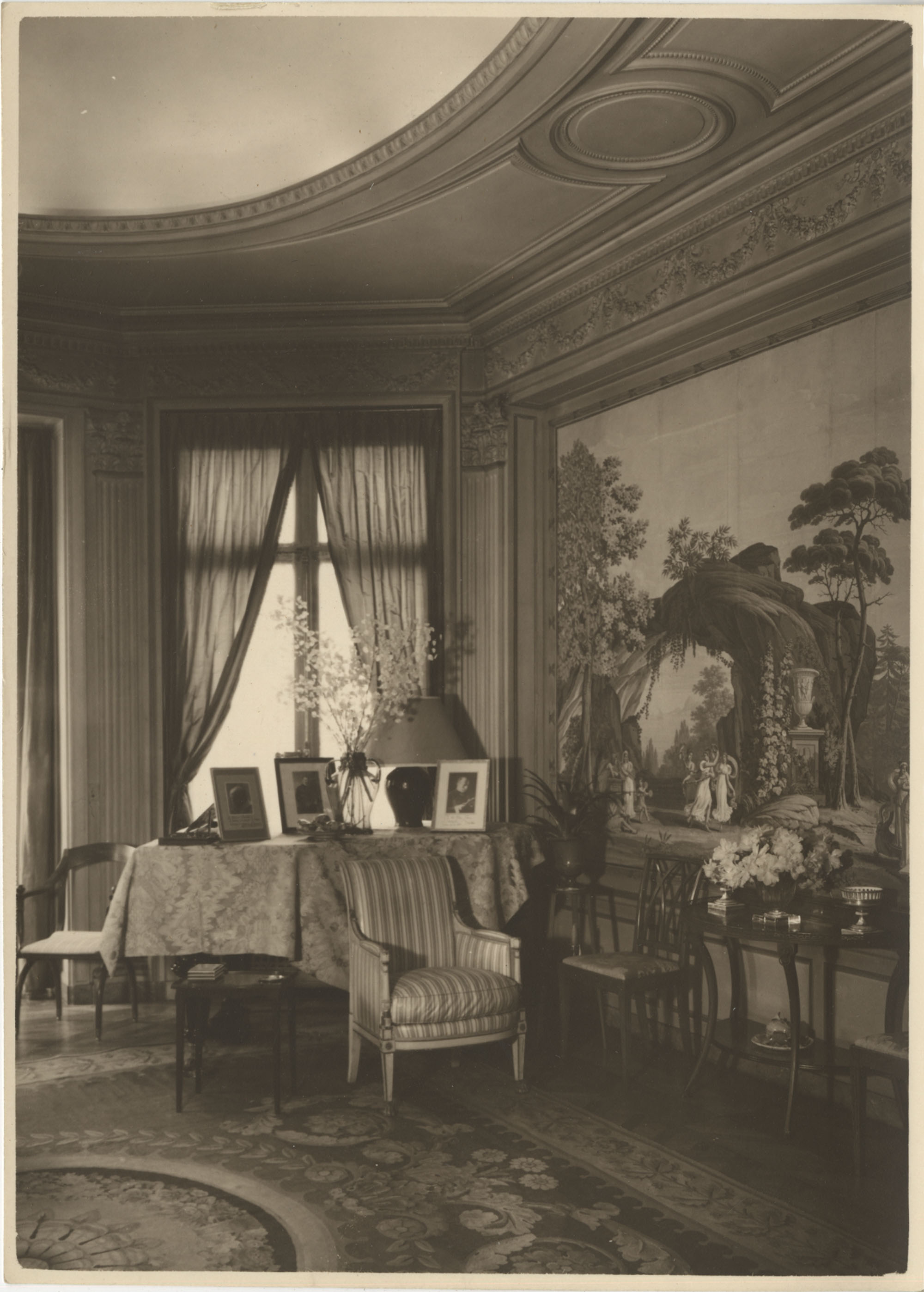 Directoire room' in the Royal Italian Consul in Sri Lanka, Photograph 1