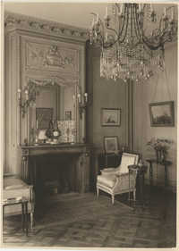 Blue drawing room'  in the Royal Italian Consul in Sri Lanka, Photograph 1
