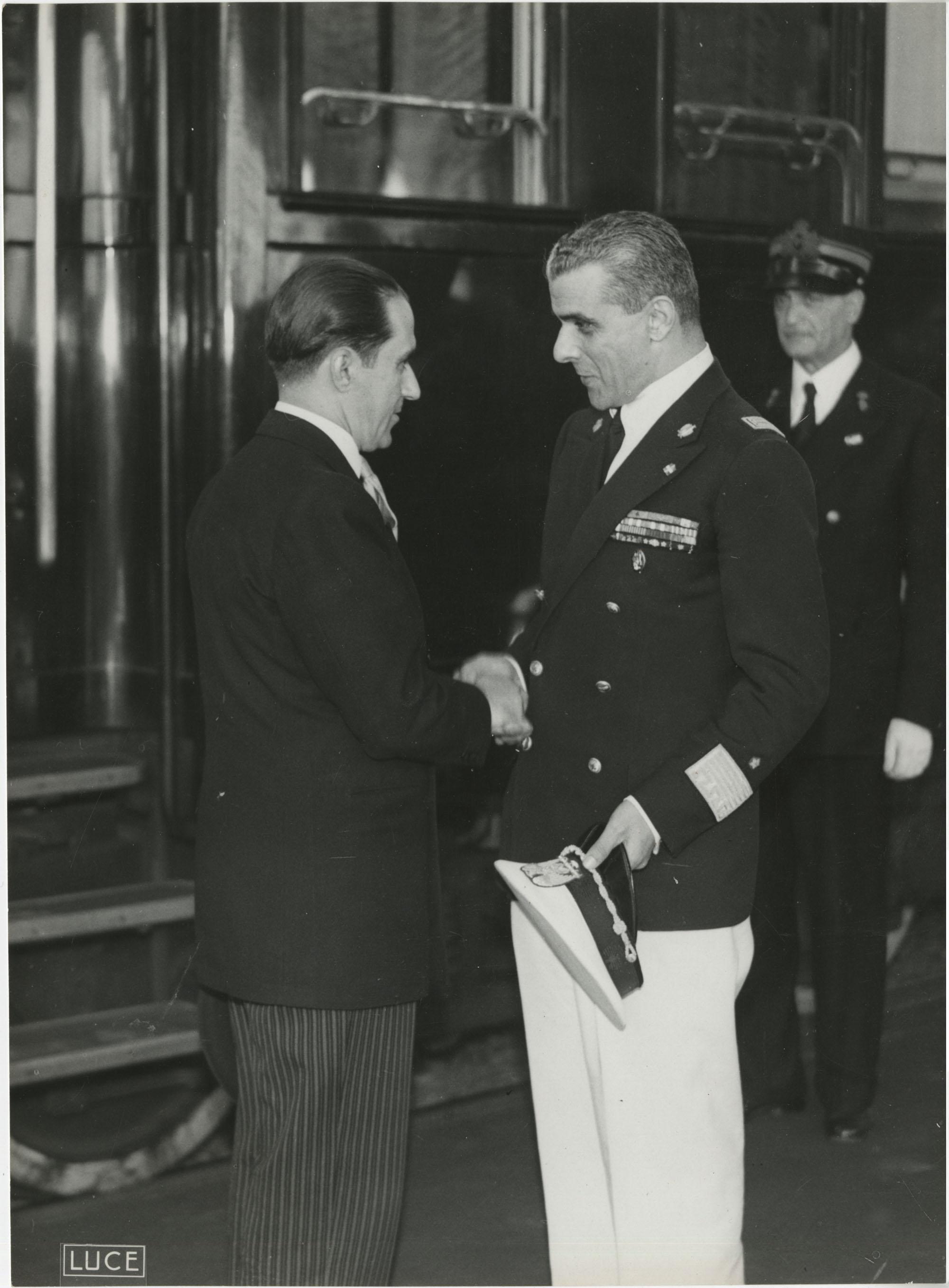 Mihai Antonescu's visit to Benito Mussolini, Photograph 42