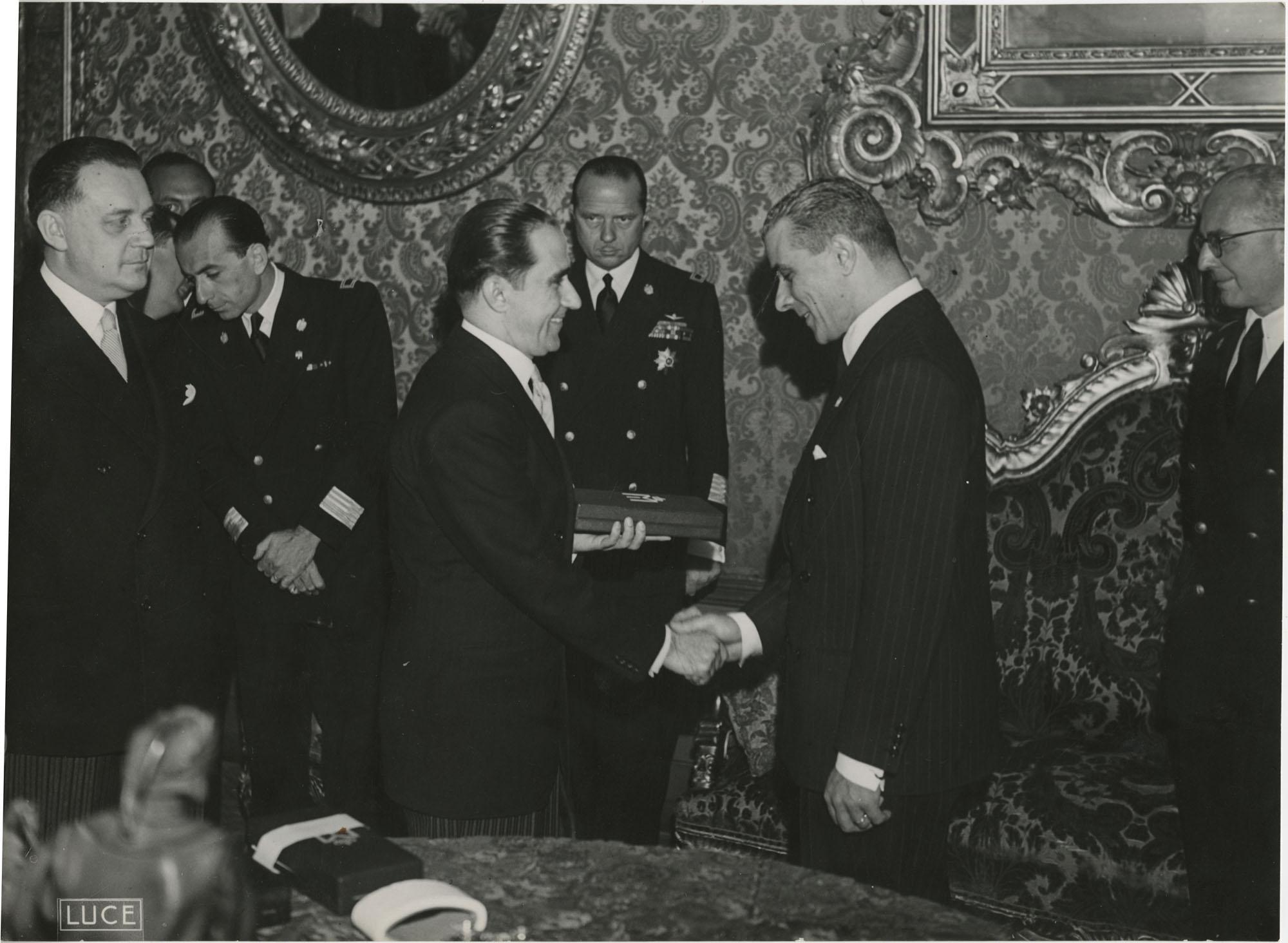 Mihai Antonescu's visit to Benito Mussolini, Photograph 2