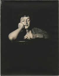 Portrait photograph of Gertrude Legendre