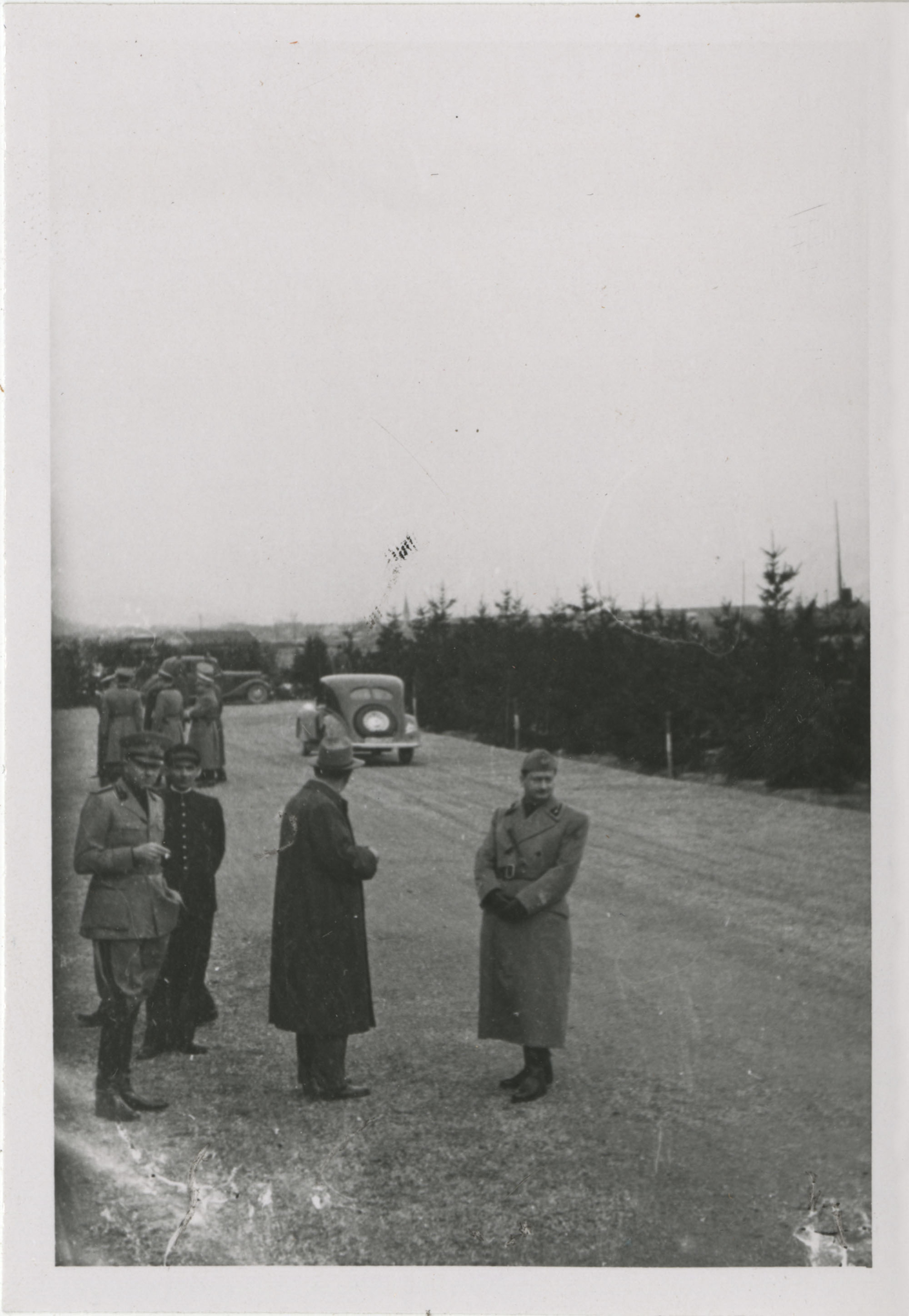 Mario Pansa greeting military personnel, Photograph 11