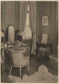 Mario Pansa's dressing room in the Royal Italian Consul in Sri Lanka