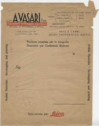Envelope containing photographs, 3