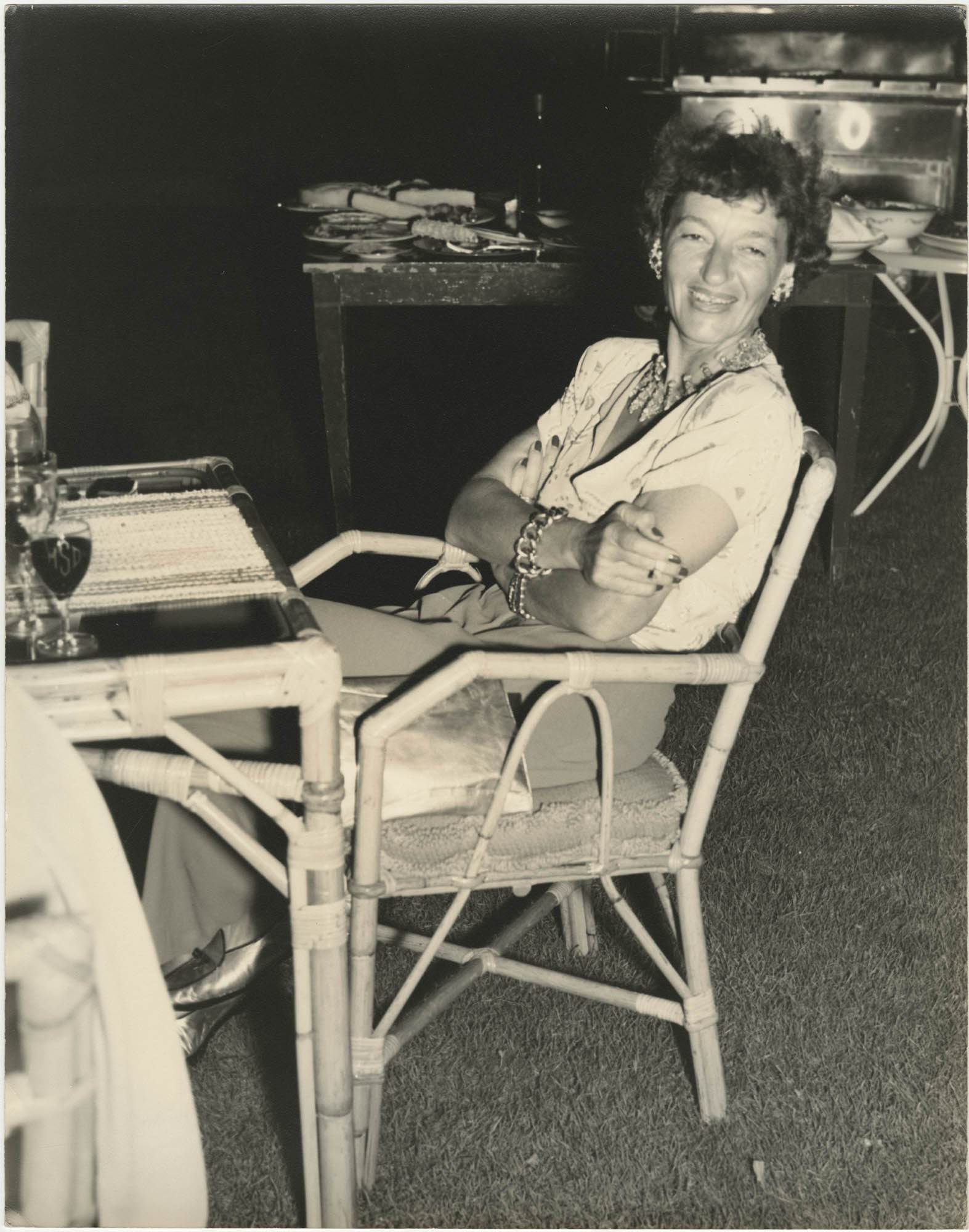 Photograph of Gertrude Legendre