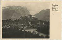 Mirabell Palace in Salzburg, Austria, Photograph 1