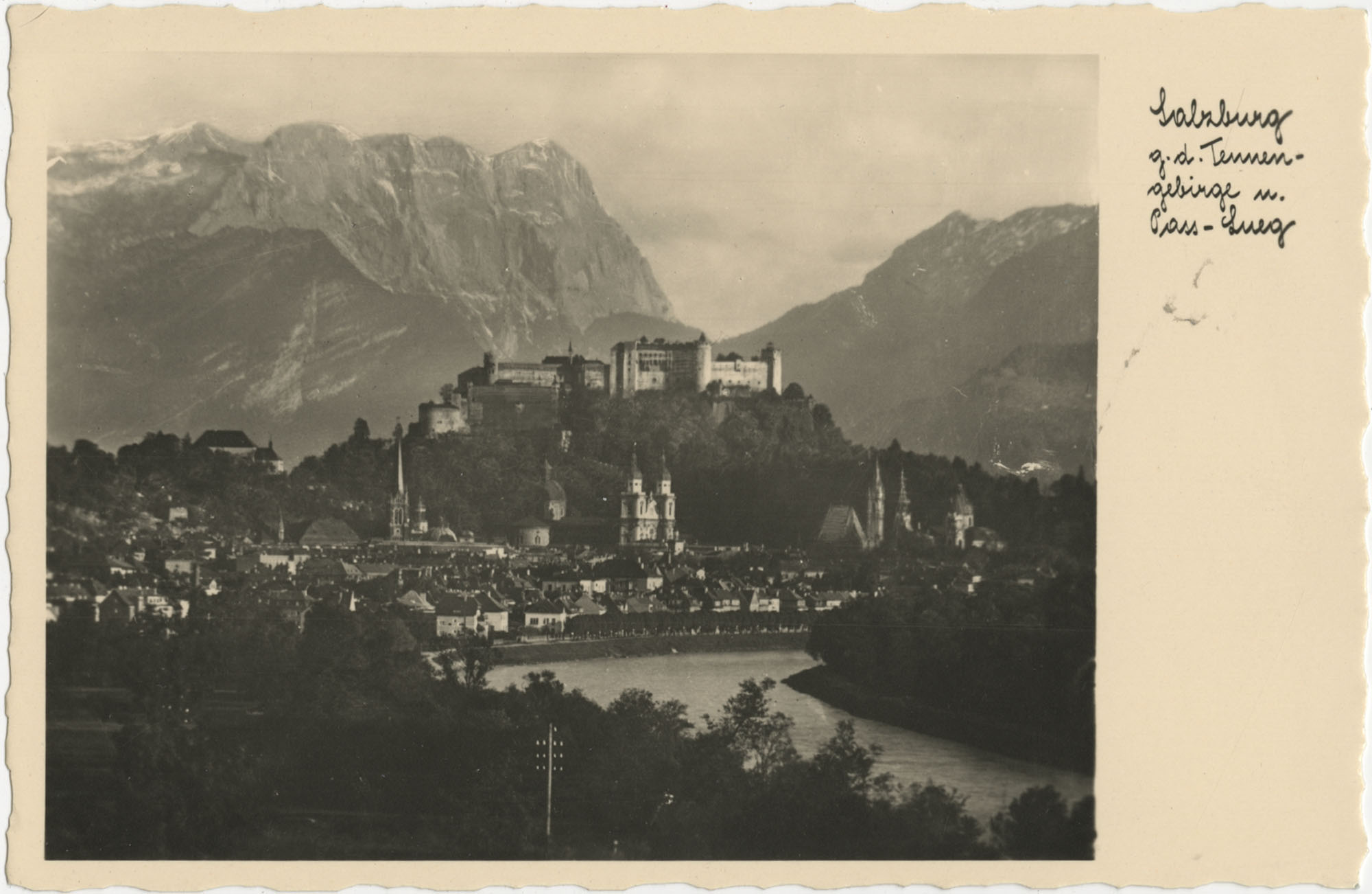 Mirabell Palace in Salzburg, Austria, Photograph 1