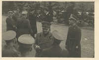 Mario Pansa greeting military personnel, Photograph 4