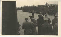 Mario Pansa greeting military personnel, Photograph 5