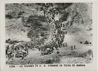 Italian soldiers under Achille Starace advancing on Gondar, Ethiopia