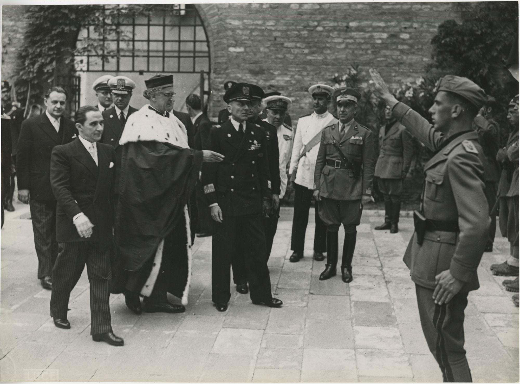 Mihai Antonescu's visit to Benito Mussolini, Photograph 19