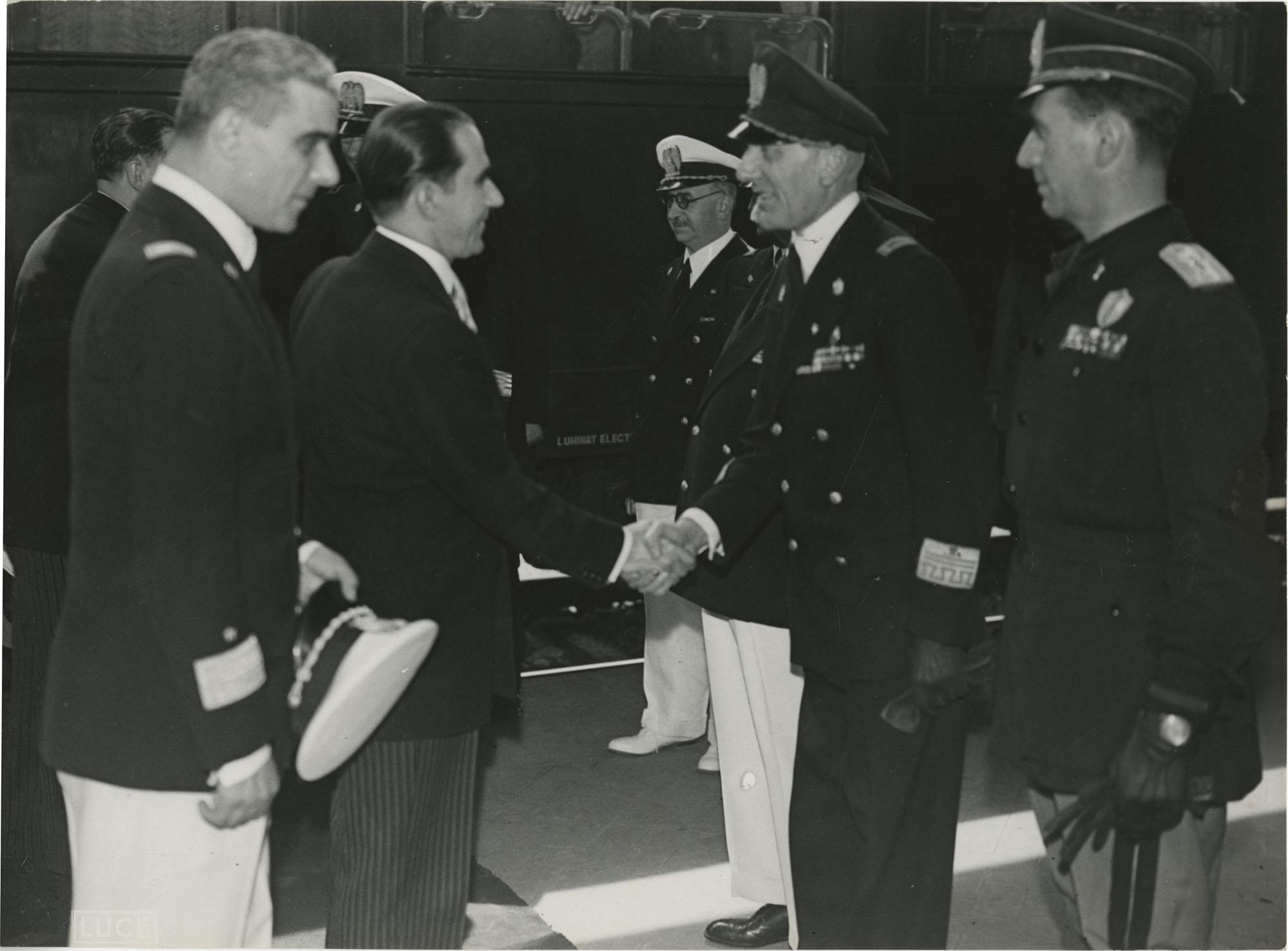Mihai Antonescu's visit to Benito Mussolini, Photograph 26