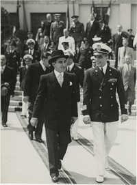 Mihai Antonescu's visit to Benito Mussolini, Photograph 24