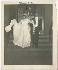 Photograph of Newlyweds