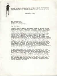 Letter from Inez Smith Reid to Septima P. Clark, February 15, 1973