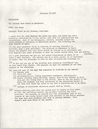 Trident Task Force Memorandum, February 27, 1978