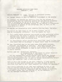 Minutes of the Trident Education Task Force, February 8, 1978