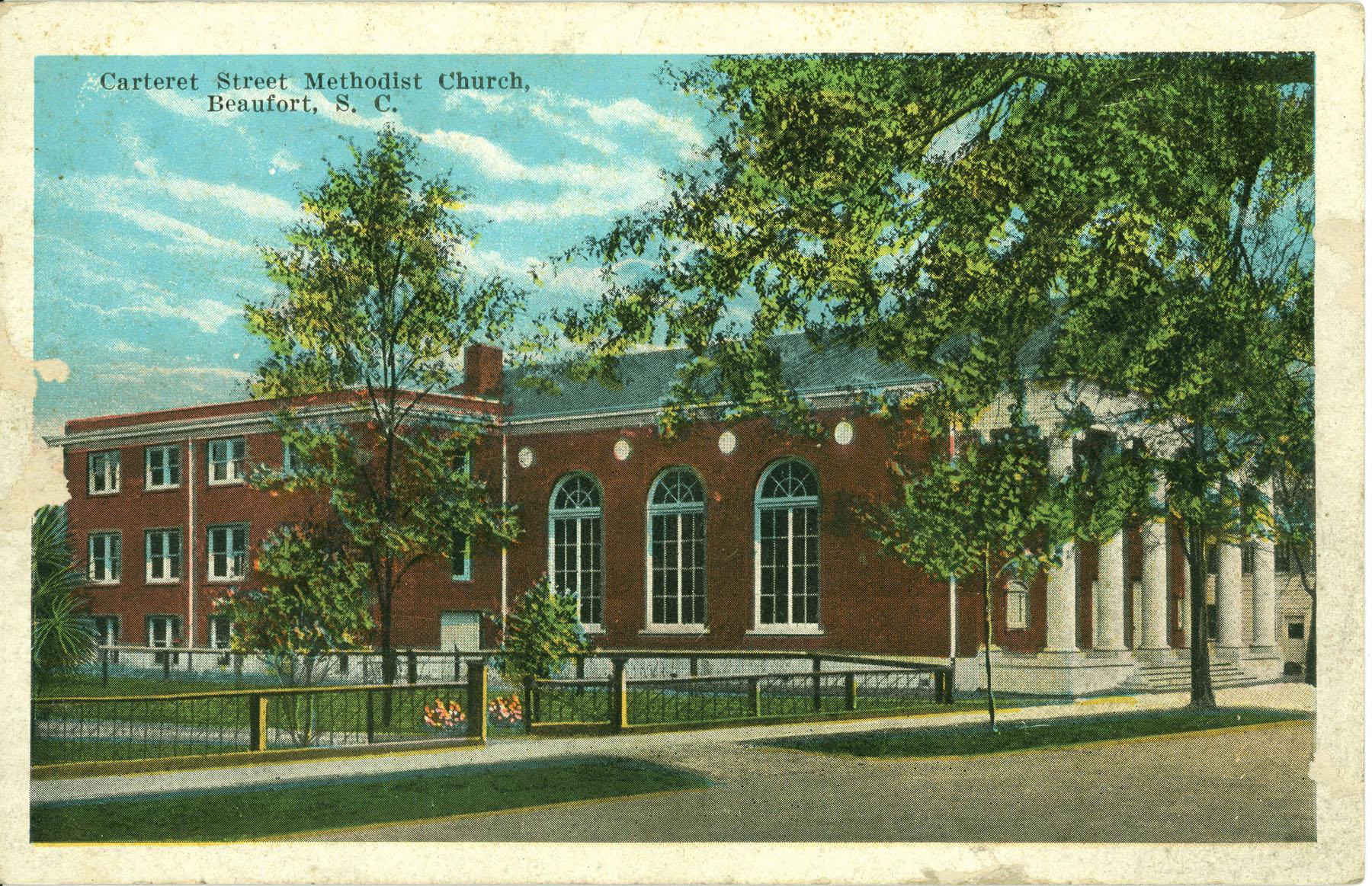 Carteret Street Methodist Church Beaufort, South Carolina