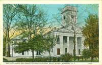 Baptist Church and Sunday School Building, Built in 1812, Beaufort, South Carolina