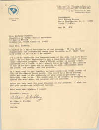 Letter from William R. Findlay to Barbara Simmons, May 19, 1978