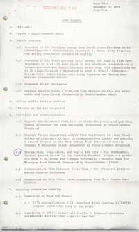 Charleston City Council Minutes, December 5, 1978