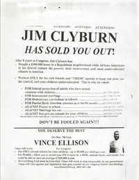 Vince Ellison, Campaign Materials