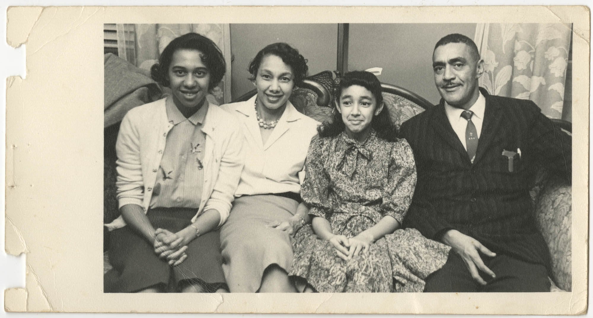 Photograph of the Brown Family
